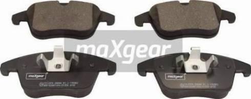 Maxgear 19-2974 - Piduriklotsi komplekt,ketaspidur multiparts.ee