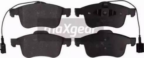 Maxgear 19-2095 - Piduriklotsi komplekt,ketaspidur multiparts.ee