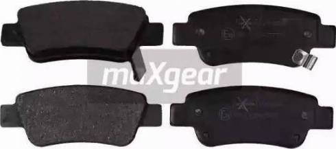 Maxgear 19-2096 - Piduriklotsi komplekt,ketaspidur multiparts.ee