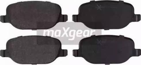 Maxgear 19-2063 - Piduriklotsi komplekt,ketaspidur multiparts.ee