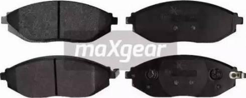 Maxgear 19-2168 - Piduriklotsi komplekt,ketaspidur multiparts.ee