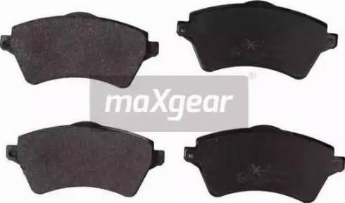 Maxgear 19-2163 - Piduriklotsi komplekt,ketaspidur multiparts.ee