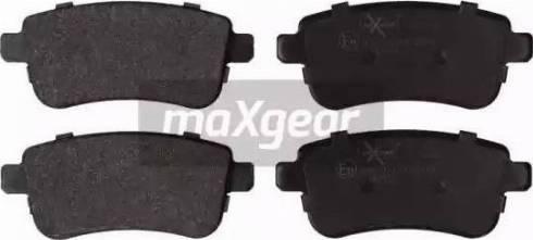 Maxgear 19-2126 - Piduriklotsi komplekt,ketaspidur multiparts.ee