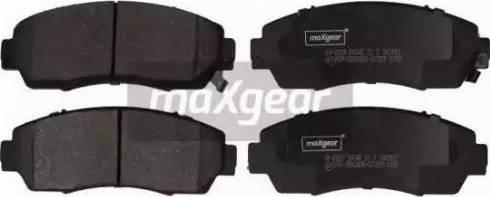Maxgear 19-2895 - Piduriklotsi komplekt,ketaspidur multiparts.ee