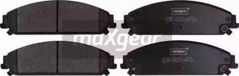 Maxgear 19-2890 - Piduriklotsi komplekt,ketaspidur multiparts.ee