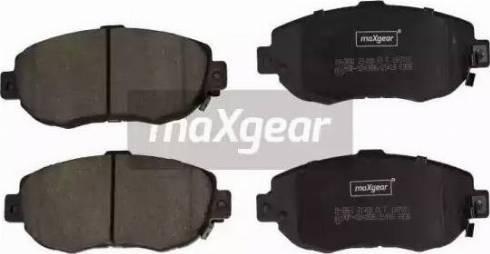 Maxgear 19-2861 - Piduriklotsi komplekt,ketaspidur multiparts.ee