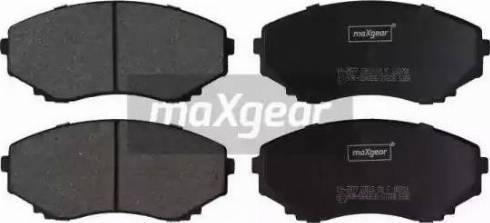 Maxgear 19-2877 - Piduriklotsi komplekt,ketaspidur multiparts.ee