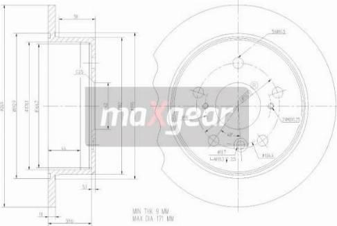 Maxgear 19-2347 - Piduriketas multiparts.ee