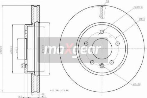 Maxgear 19-2369 - Piduriketas multiparts.ee