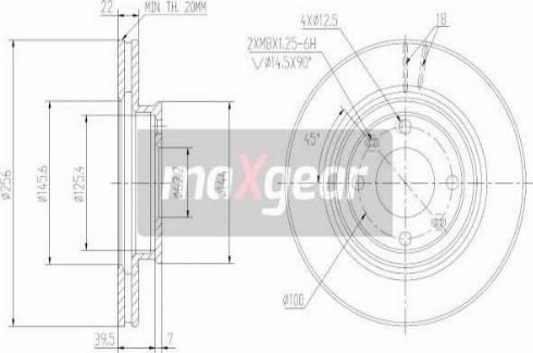 Maxgear 19-2376MAX - Piduriketas multiparts.ee