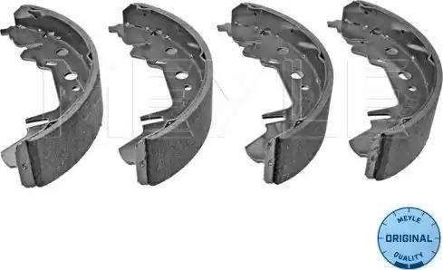 Meyle 44-14 533 0002 - Piduriklotside komplekt multiparts.ee
