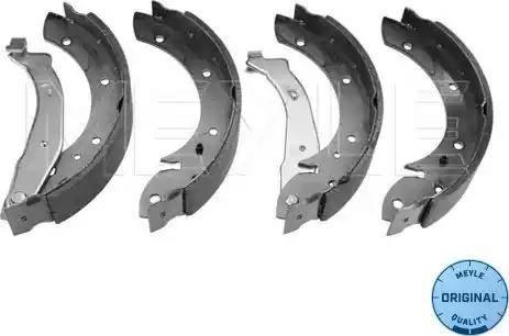 Meyle 11-14 533 0001 - Piduriklotside komplekt multiparts.ee
