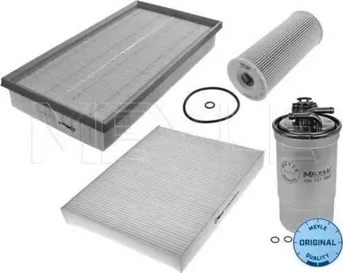 Meyle 112 330 0001/S - Filter-komplekt multiparts.ee