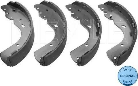 Meyle 35-14 533 0001 - Piduriklotside komplekt multiparts.ee