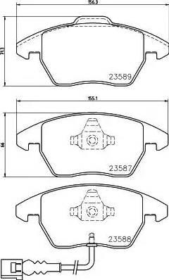 Mintex MDB2604 - Piduriklotsi komplekt,ketaspidur multiparts.ee