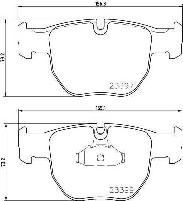 Mintex MDB2227 - Piduriklotsi komplekt,ketaspidur multiparts.ee