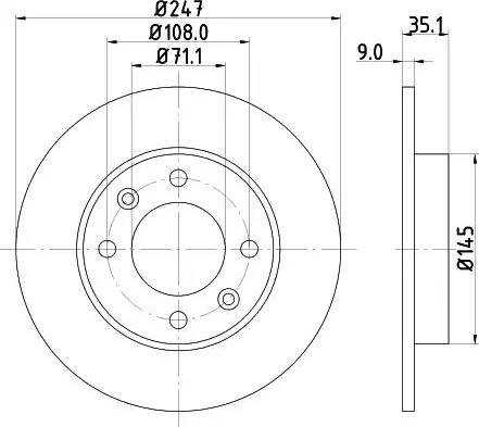 Mintex MDC1493 - Piduriketas multiparts.ee