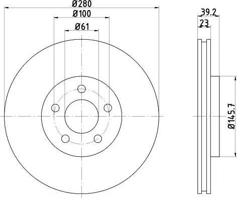 Mintex MDC1449 - Piduriketas multiparts.ee
