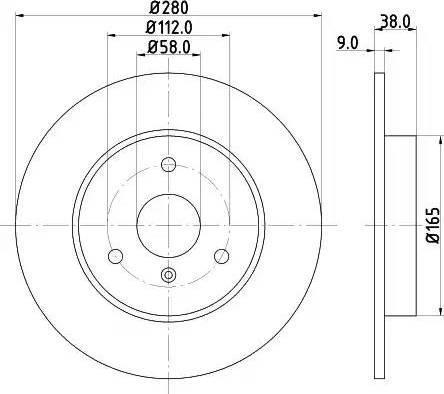 Mintex MDC1423 - Piduriketas multiparts.ee