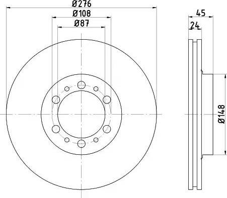 Mintex MDC1473 - Piduriketas multiparts.ee