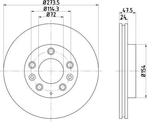 Mintex MDC1543 - Piduriketas multiparts.ee