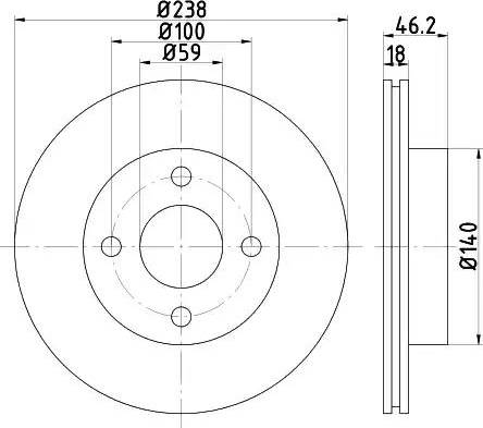 Mintex MDC1508 - Piduriketas multiparts.ee