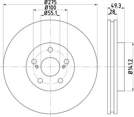 Mintex MDC1584 - Piduriketas multiparts.ee