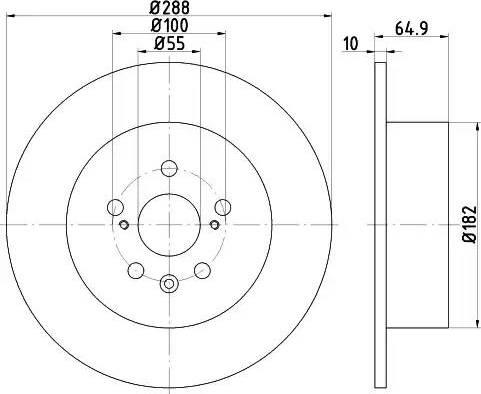 Mintex MDC1585 - Piduriketas multiparts.ee