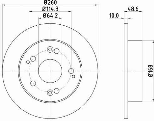 Mintex MDC1622C - Piduriketas multiparts.ee