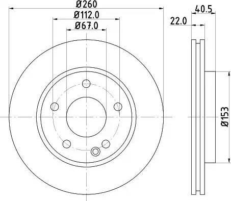 Mintex MDC1035 - Piduriketas multiparts.ee