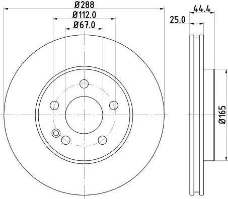 Mintex MDC1845 - Piduriketas multiparts.ee