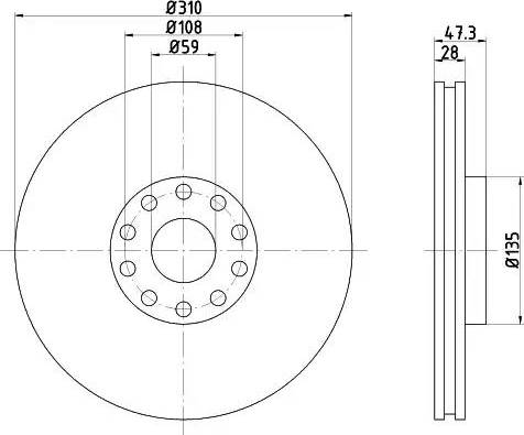 Mintex MDC1393 - Piduriketas multiparts.ee