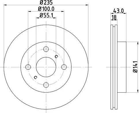 Mintex MDC1392 - Piduriketas multiparts.ee