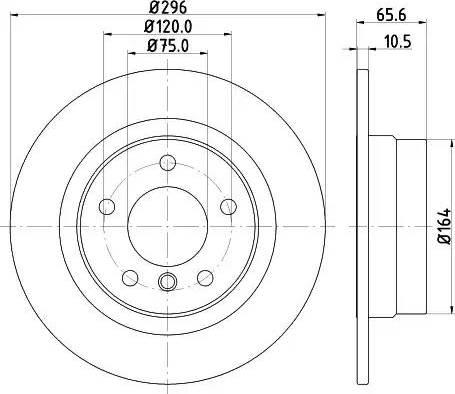 Mintex MDC1746 - Piduriketas multiparts.ee