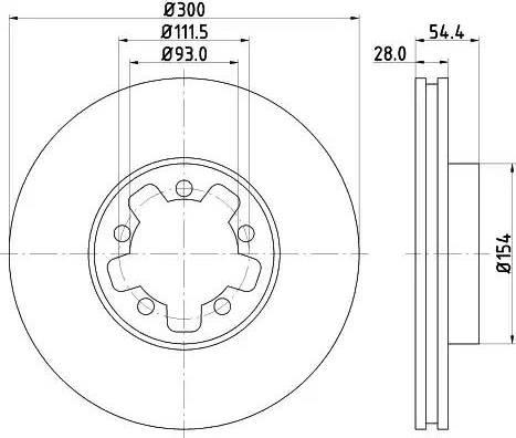 Mintex MDC1760 - Piduriketas multiparts.ee
