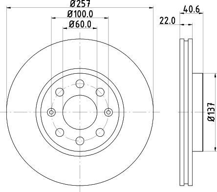 Mintex MDC1735C - Piduriketas multiparts.ee