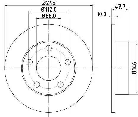 Mintex MDC831 - Piduriketas multiparts.ee