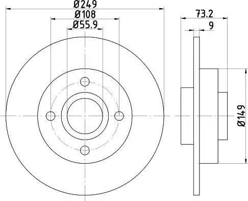 Mintex MDC2031 - Piduriketas multiparts.ee