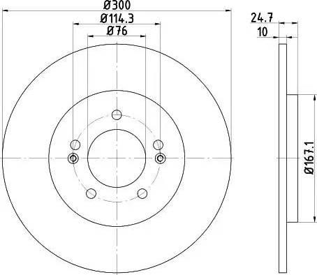 Mintex MDC2361 - Piduriketas multiparts.ee