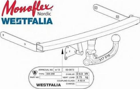 Monoflex 321750 - Haakeseade multiparts.ee
