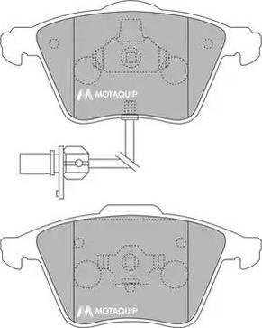 Motaquip LVXL1165 - Piduriklotsi komplekt,ketaspidur multiparts.ee