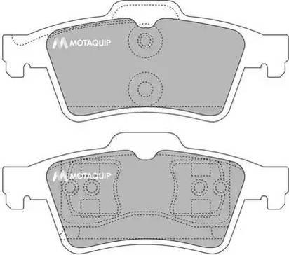 Motaquip LVXL1118 - Piduriklotsi komplekt,ketaspidur multiparts.ee