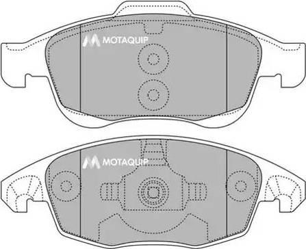 Motaquip LVXL1372 - Piduriklotsi komplekt,ketaspidur multiparts.ee