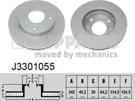 Nipparts J3301055 - Piduriketas multiparts.ee