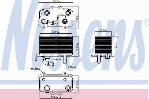 Nissens 90934 - Õliradiaator, käigukast multiparts.ee
