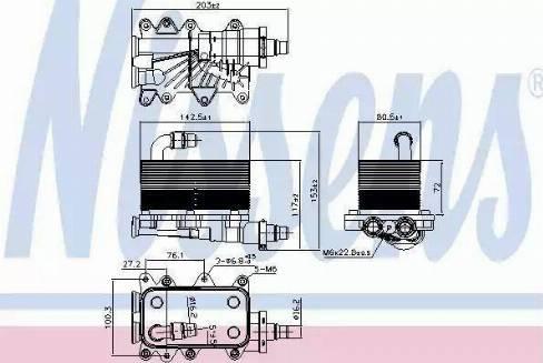 NTY CCL-BM-001 - Õliradiaator, automaatkast multiparts.ee