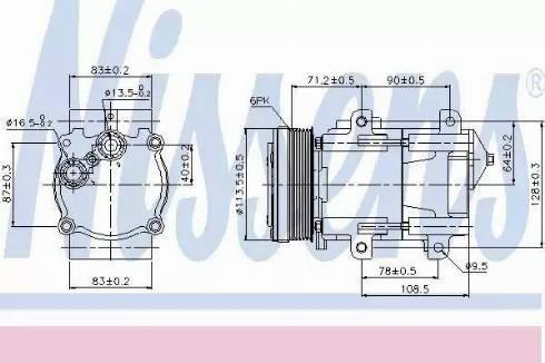 Nissens 89046 - Kompressor,kliimaseade multiparts.ee