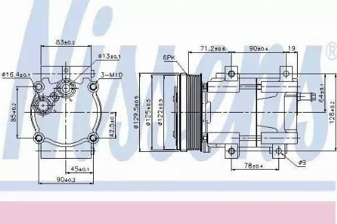 Nissens 89205 - Kompressor,kliimaseade multiparts.ee