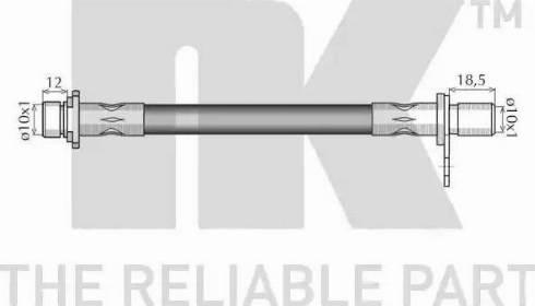 NK 854551 - Pidurivoolik multiparts.ee
