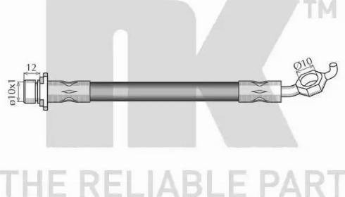 NK 8545139 - Pidurivoolik multiparts.ee
